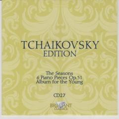 Tchaikovsky Edition CD 27 (No. 3)