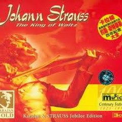 Johann Strauss The King Of Waltz Vol. 1 - Herbert von Karajan