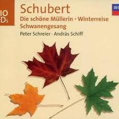 Schubert: Die Schone Mullerin, Winterreise, Schwanengesang CD1 No.1 - Andras Schiff,Peter Schreier