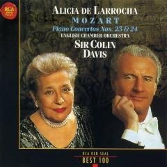 Mozart Piano Concertos Nos 23 & 24 - Alicia De Larrocha,Colin Davis