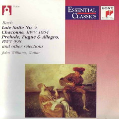 Bach Lute Suites Vol 2 - John Williams