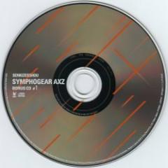 Senki Zesshou Symphogear AXZ BONUS CD #1