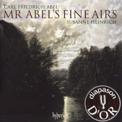 Mr Abel's Fine Airs CD1 - Carl Friedrich Abel