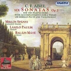 Six Sonatas Op. 2 - Carl Friedrich Abel