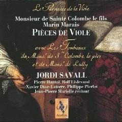 Monsieur Sainte Colombes De Fils & Marin Marais - Pieces De Viole CD3 No. 2