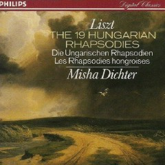 Liszt:The 19 Hungarian Rhapsodies CD 2 - Misha Dichter
