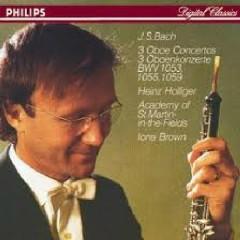 J.S.Bach 3 Oboe Concertos
