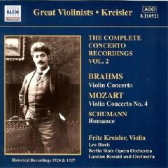 Brahms Concertos Vol 2 No. 4
