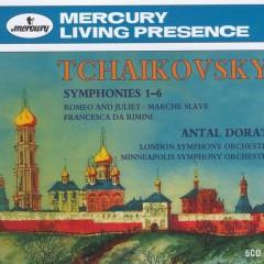 Tchaikovsky 6 Symphonies CD 5