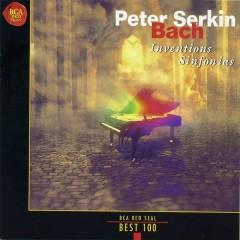 RCA Best 100 CD 6 - J.S.Bach Inventions Sinfonias CD 1 - Peter Serkin