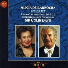 RCA Best 100 CD 10 - Mozart Piano Concertos Nos 20 & 2 - Sir Colin Davis,Alicia De Larrocha