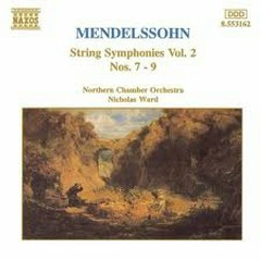 Mendelssohn String Symphonies Vol.2 CD 4 - Nicholas Ward,Northern Chamber Orchestra