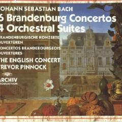 6 Brandenburg Concertos - 4 Orchestral Suites CD 1 - The English Concert,Trevor Pinnock