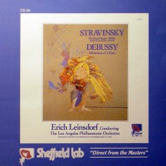 Stravinsky - The Firebird Suite (1910), Debussy - Afternoon Of A Faun - Erich Leinsdorf,Los Angeles Philharmonic