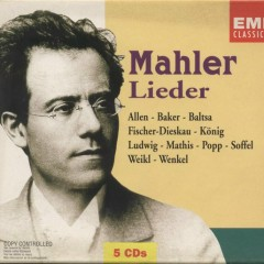 Mahler Lieder CD 4