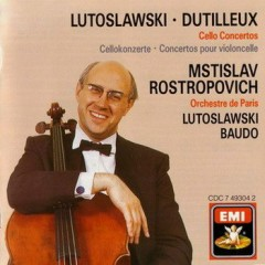 Dutilleux Lutoslawski - Cello Concertos