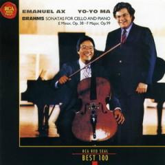 RCA Best 100 CD 55 Brahms Cello Sonatas - Yo-Yo Ma,Emanuel Ax