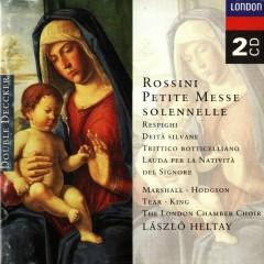 Rossini - Petite Messe solennelle & Respighi Delta silvane Trittico botticelliano etc CD 1