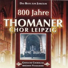 800 Jahre Thomanerchor Leipzig CD 1