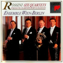Rossini - Six quartets   - Ensemble Wien-Berlin