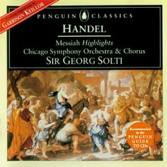 Handel - Messiah, Highlights, HWV 56