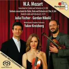 Mozart Sinfonia Concertante - Gordan Nikolic,Julia Fischer