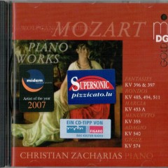 Mozart Piano Works  - Christian Zacharias