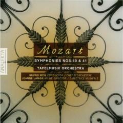 Mozart - Symphonies No. 40 & 41 - Bruno Weil,Tafelmusik Baroque Orch & Chamber Choir