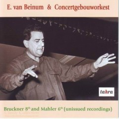 Bruckner 8th Symphony And Mahler 6th Symphony CD 2 - Eduard Van Beinum