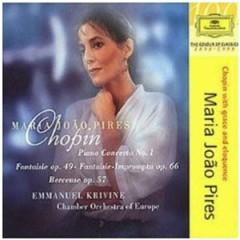 Piano Concerto No. 1 - Chamber Orchestra Of Europe,Maria Joao Pires