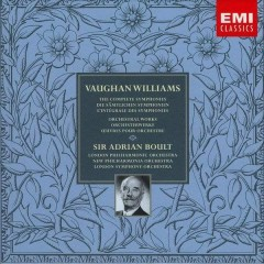 Vaughan Williams - The Complete Symphonies & Orchestral Works CD 3 - Adrian Boult,London Philharmonic Orchestra,London Symphony Orchestra