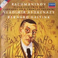 Rachmaninov Piano Concerto No. 1 & Paganini Rhapsody - Vladimir Ashkenazy,Bernard Haitink