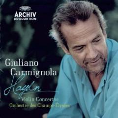 Haydn - Violin Concertos - G.Carmignola