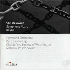 Shostakovich Symphony No. 15 - Kurt Sanderling,The Cleveland Orchestra