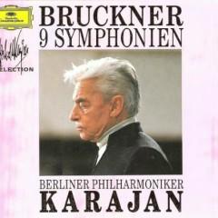 Bruckner - 9 Symphonies CD 7 - Herbert von Karajan,Berlin Philharmonic Orchestra