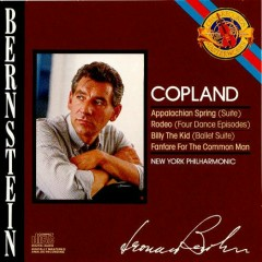 Aaron Copland - Billy The Kid, Rodeo, Appalachian Spring, Fanfare For The Common Man CD 1