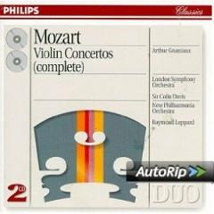 Mozart - Violin Concertos (Complete) CD 1 - Arthur Grumiaux,Sir Colin Davis,London Symphony Orchestra