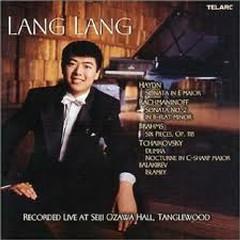 Lang Lang - Live At Seiji Ozawa Hall, Tanglewood - Lang Lang
