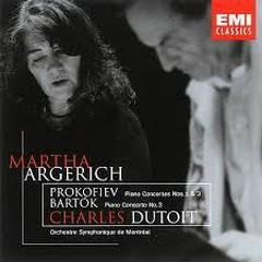 Prokofiev - Piano Concertos Nos.1 & 3; Bartok - Piano Concerto No. 3 - Martha Argerich,Charles Dutoit
