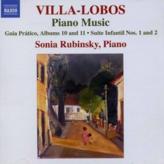 Villa Lobos - Piano Music Vol. 8 (No. 3) - Sonia Rubinsky
