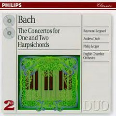 Bach - The Concertos For One And Two Harpsichords  CD 2