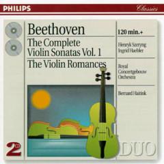Beethoven - The Complete Violin Sonatas, Vol. 1 CD 1   - Henryk Szeryng,Ingrid Haebler