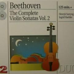 Beethoven - The Complete Violin Sonatas, Vol. 2 CD 1   - Henryk Szeryng,Ingrid Haebler