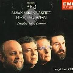 Beethoven - Complete String Quartets CD 1  - Alban Berg Quartet