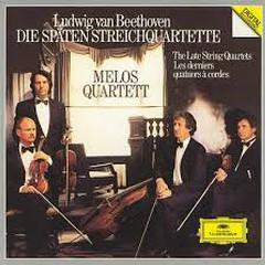 Beethoven - Die Späten Streichquartette (The Late String Quartets) CD 1  - Melos Quartet