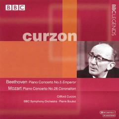 Beethoven, Mozart - Piano Concertos - Pierre Boulez,Clifford Curzon