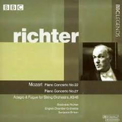 Mozart - Piano Concerto No. 22; Piano Concerto No. 27; Adagio & Fugue For String Orchestra, K 546 - Svjatoslav Richter