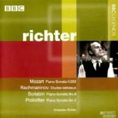 Mozart; Tchaikovsky; Rachmaninoff; Prokofiev - Svjatoslav Richter
