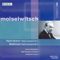 Moiseiwitsch Plays Rachmaninov & Beethoven  - Benno Moiseiwitsch