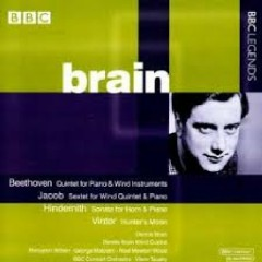 Beethoven, Jacob, Hindemith & Brinter